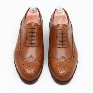 Chaussure homme richelieu à plastron
