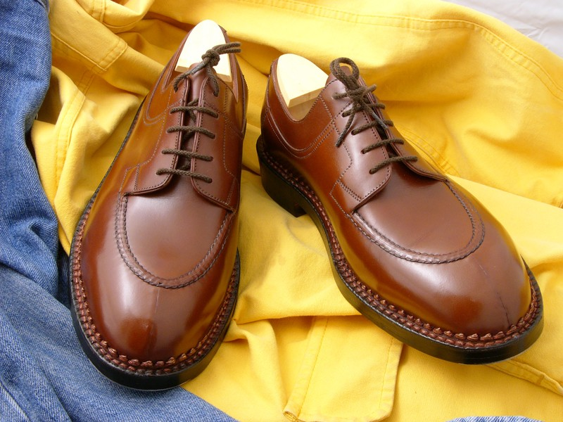 Chaussures hommes derby chasse