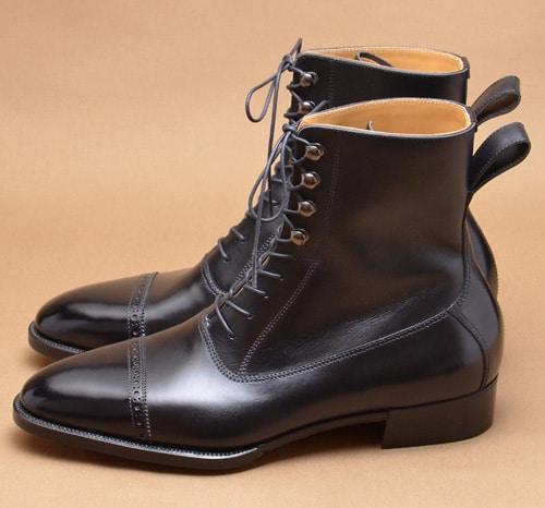 chaussure cuir homme balmoral boots - Type de chaussures pour hommes : découvrez tous les modèles existants