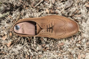 chaussures hommes bout long wing