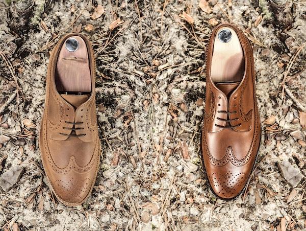 chaussure cuir homme long wing brogue - Type de chaussures pour hommes : découvrez tous les modèles existants