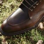 chaussure cuir homme plateau