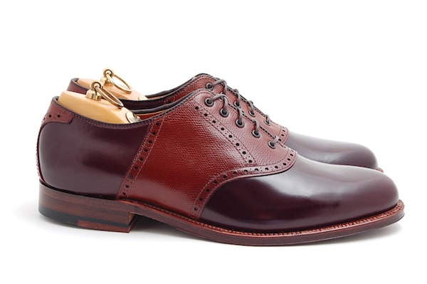 chaussures hommes saddle