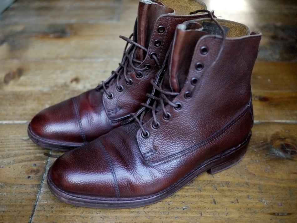 Boots cousues Veldtschoen - Les différents montages des chaussures