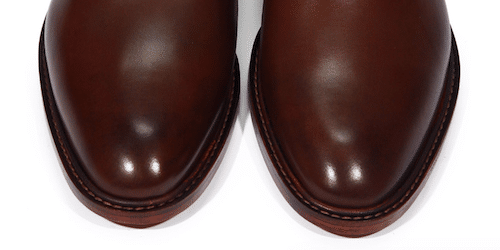 Chaussures hommes bout uni