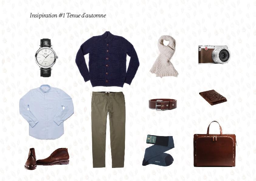 Inspiration tenue d'automne chukka ébène marron