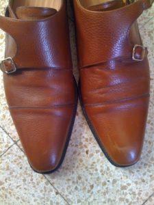 couture pas droite chaussures 225x300 - 10 choses à vérifier avant d'acheter des chaussures en cuir