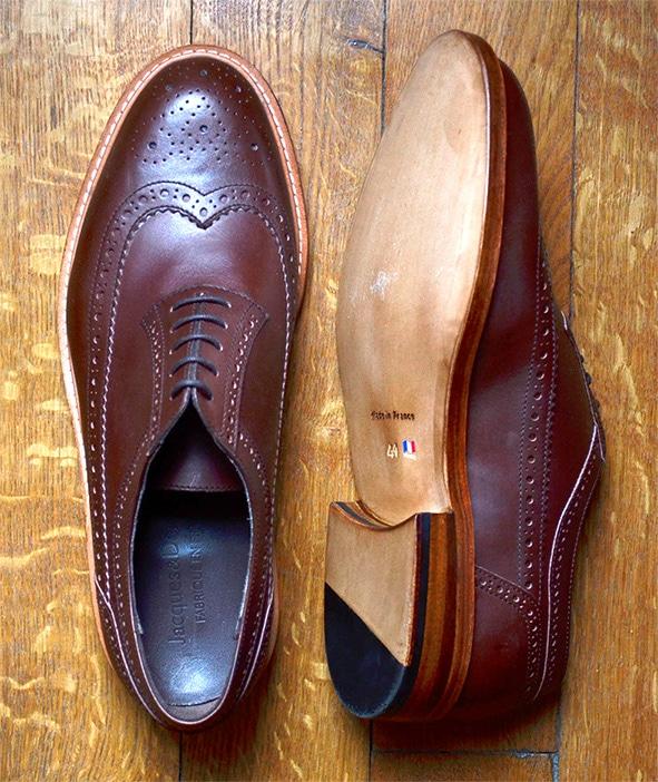 long wing semelle - Les différents montages des chaussures