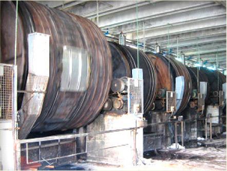Cuve tannage cuir