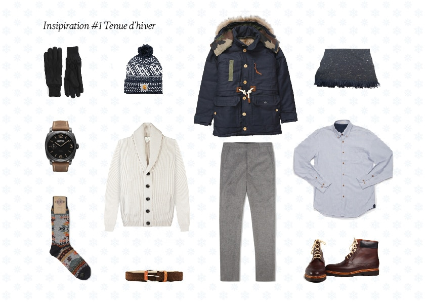 Inspiration du jour 2 01 - Inspiration Tenue homme #2 - L'hiver