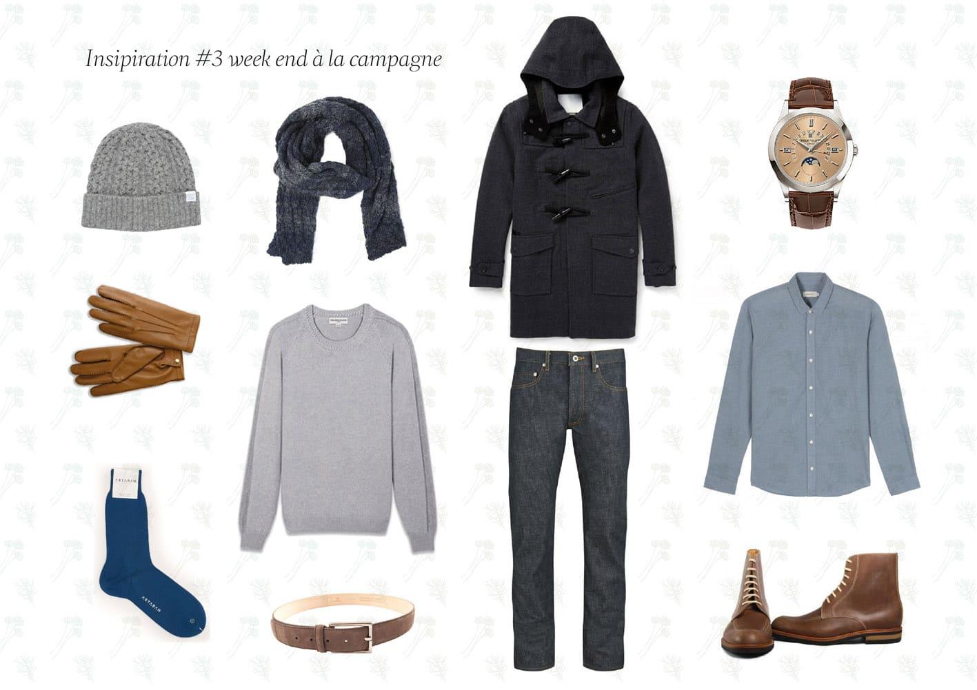 Inspiration du jour 3 01 - Inspiration #3: tenue homme week end à la campagne