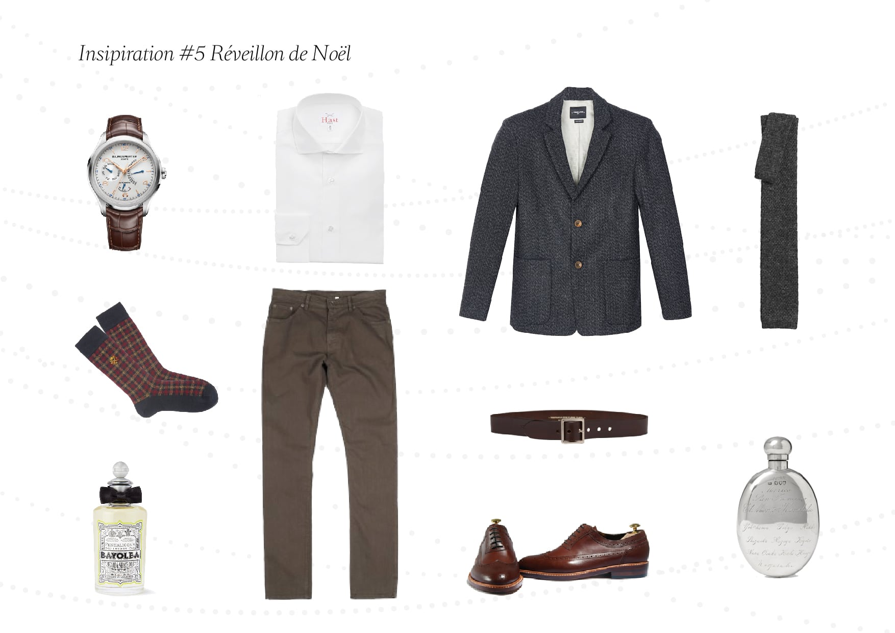 Inspiration du jour 5 01 - Inspiration #5: tenue homme pour le réveillon de noël