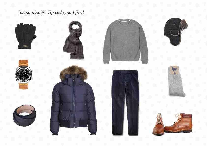 Inspiration du jour 7 01 - Inspiration #7: tenue homme spéciale grand froid
