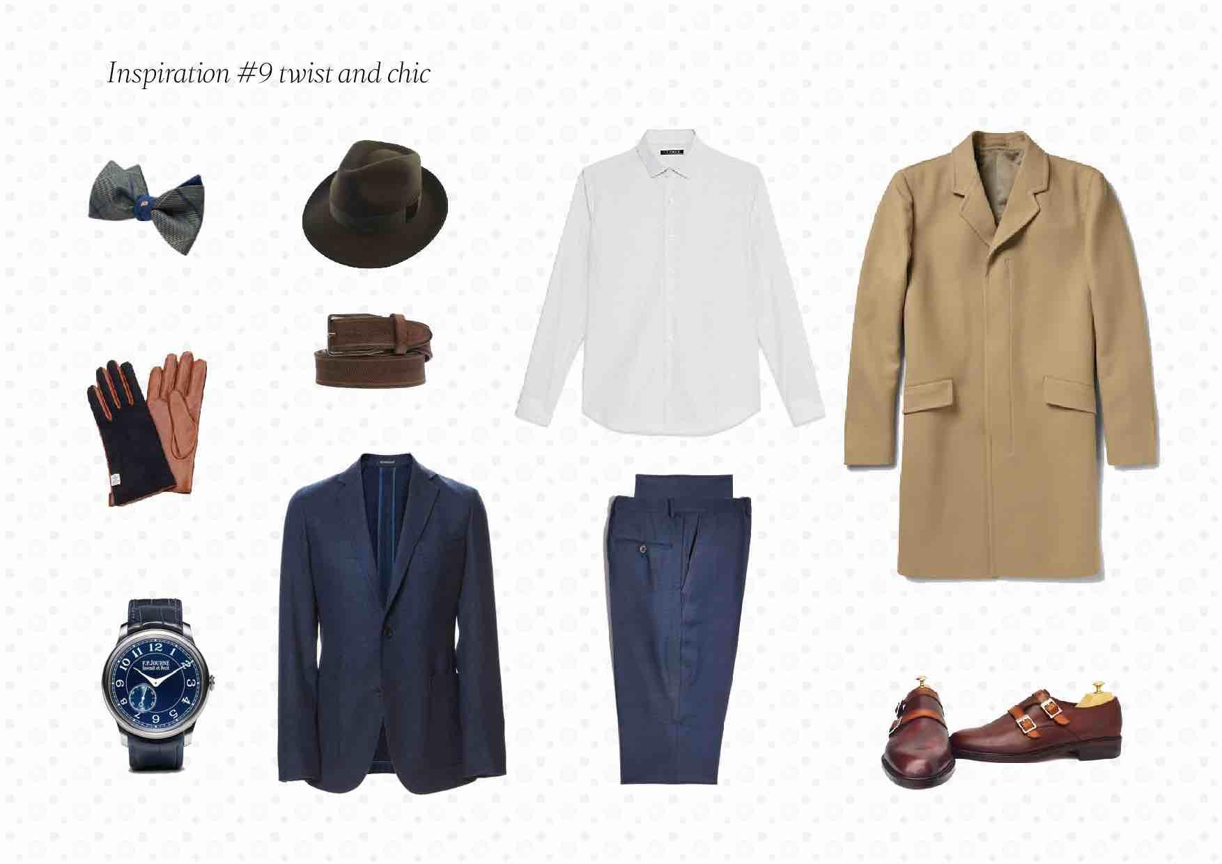 Inspiration du jour 9 01 - Inspiration #9: Tenue homme Twist & Chic