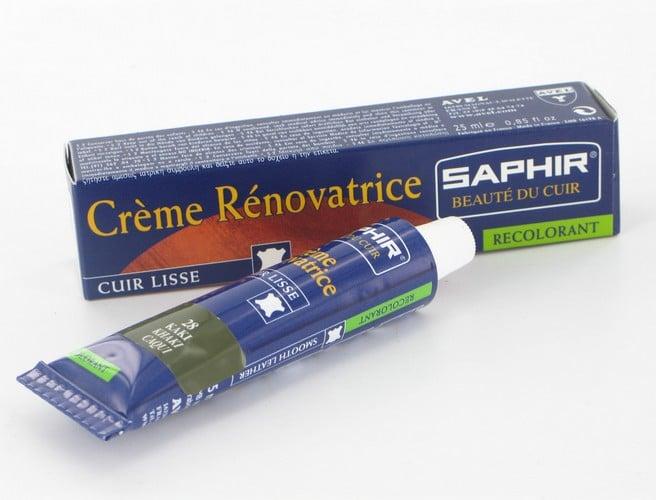 Réparer le cuir avec la crème Saphir