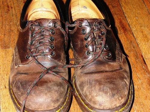 réparer chaussures en cuir - Merci