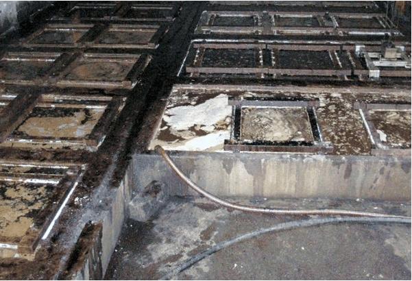 Cuve de tannage végétal pour semelles en cuir