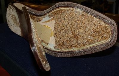rempli en pâte - Cambrion, garniture, bout dur, etc. : l'importance des pièces invisibles