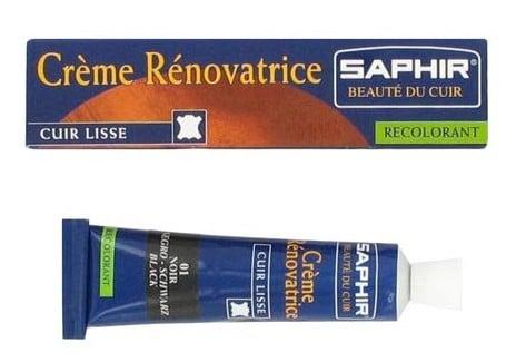 creme renovatrice saphir - Enlever une tache sur le cuir : le guide pas à pas selon la nature de la tache
