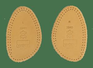 demi semelles 300x219 - Chaussures trop grandes : quelles solutions ?