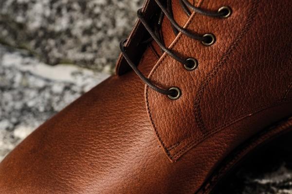 Ce cuir aussi doit vous être familier si vous avez suivi la présentation de nos nouvelles country boots - Photo: Karim Louiba