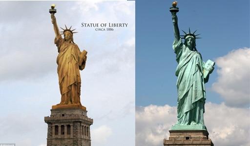 patine statute de la liberté - Patine du cuir : la beauté du temps qui passe