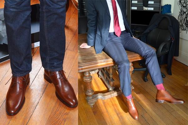 choisir chaussures homme chukka porte - Choisir des chaussures pour homme : les 5 paires indispensables