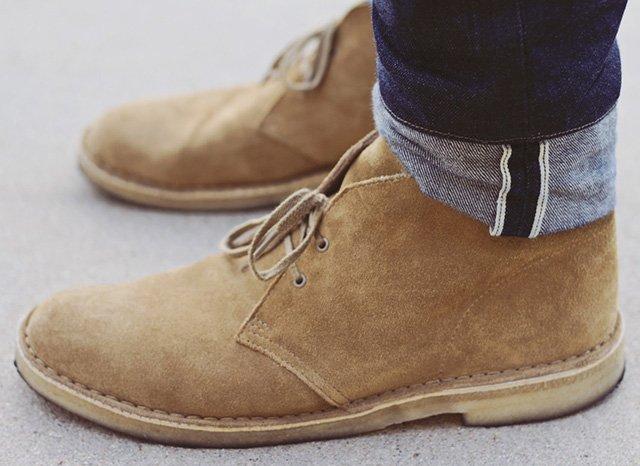 choisir chaussures homme desert boots - Choisir des chaussures pour homme : les 5 paires indispensables