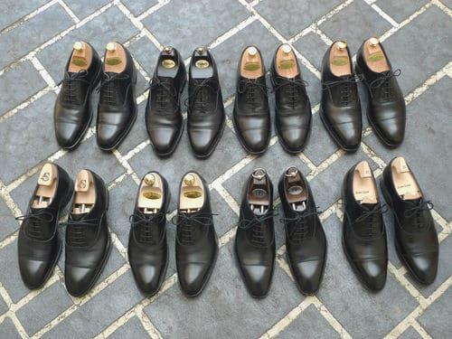 richelieu à bout droit - Choisir des chaussures pour homme : les 5 paires indispensables