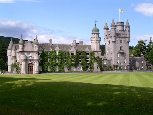 Voici le fameux chateau Balmoral