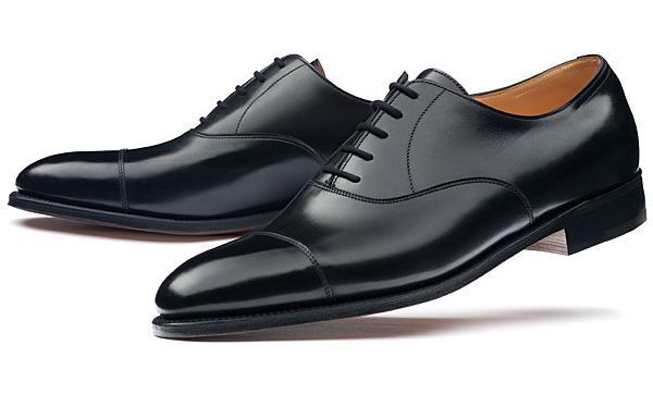 chaussure richelieu à bout droit