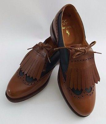 chaussure richelieu kiltie oxford