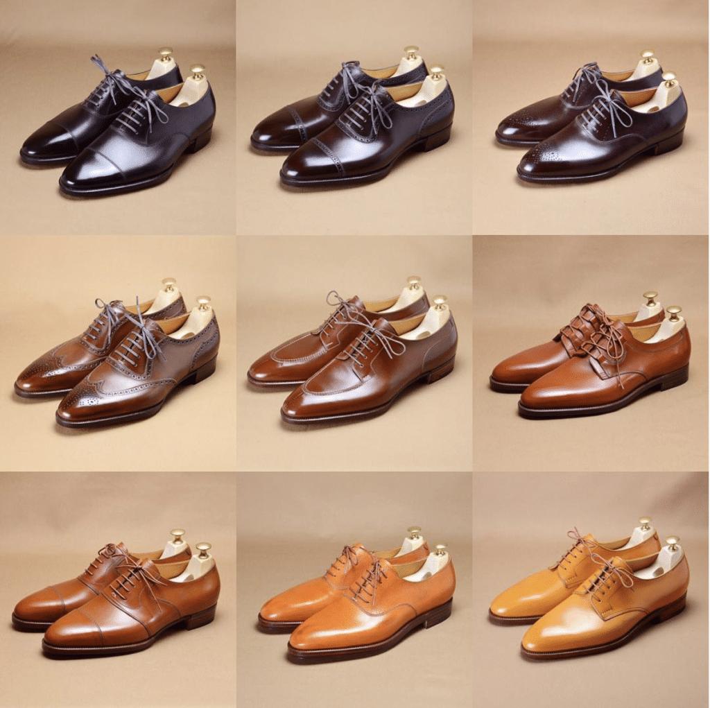 Quelques réalisations du bottier Hiro Yanagimachi (cliquez pour être redirigé vers sa page Instagram)