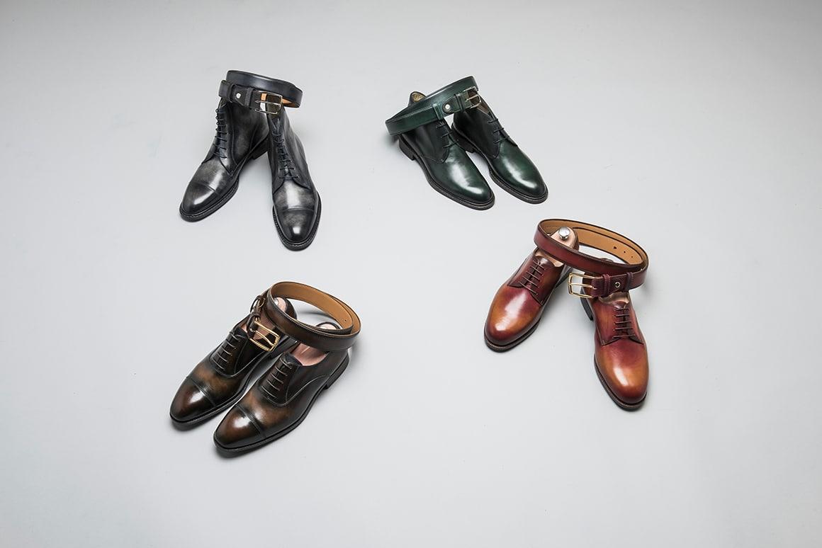 PATINECOUV - Patines sur chaussures ... Et ceintures !