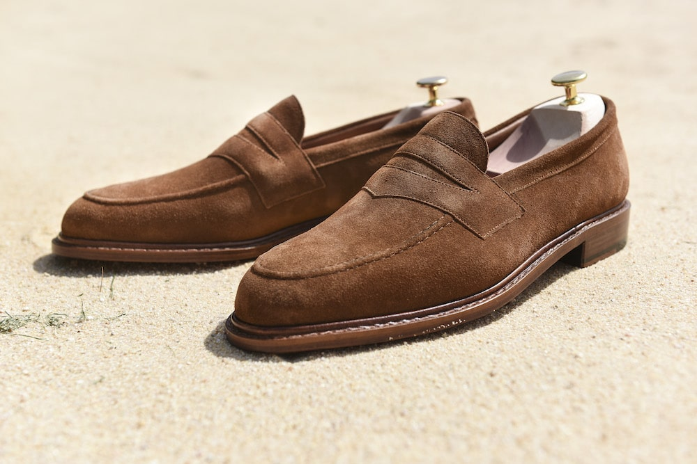mocassin loafer velours