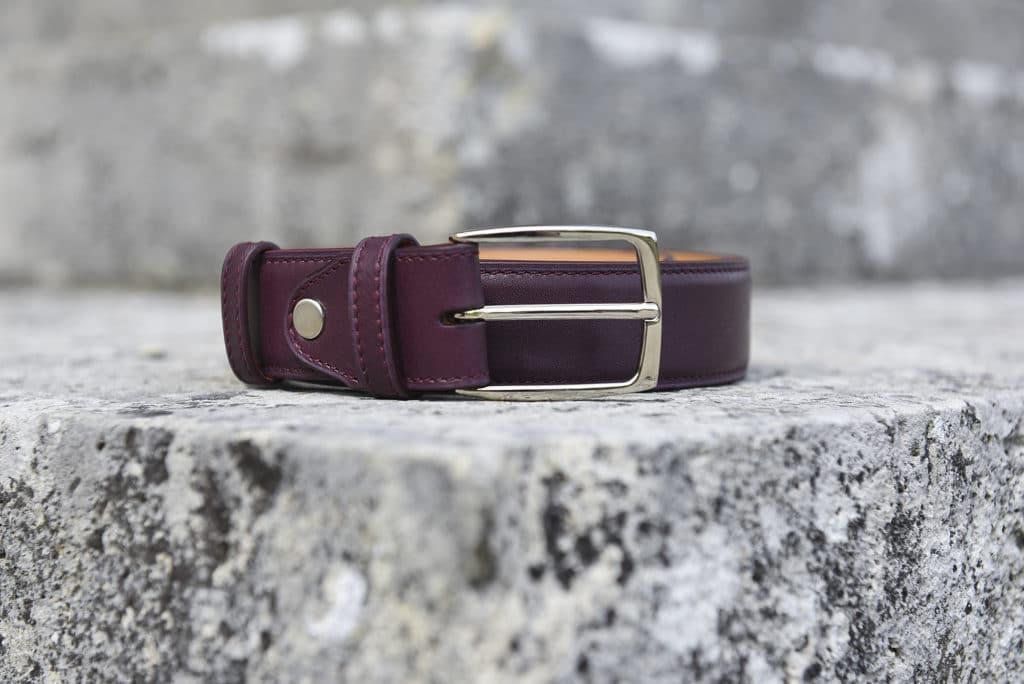 ceinture cuir cerise 1024x684 - 5 nouvelles patines, 7 nouvelles ceintures : 57 possibilités !