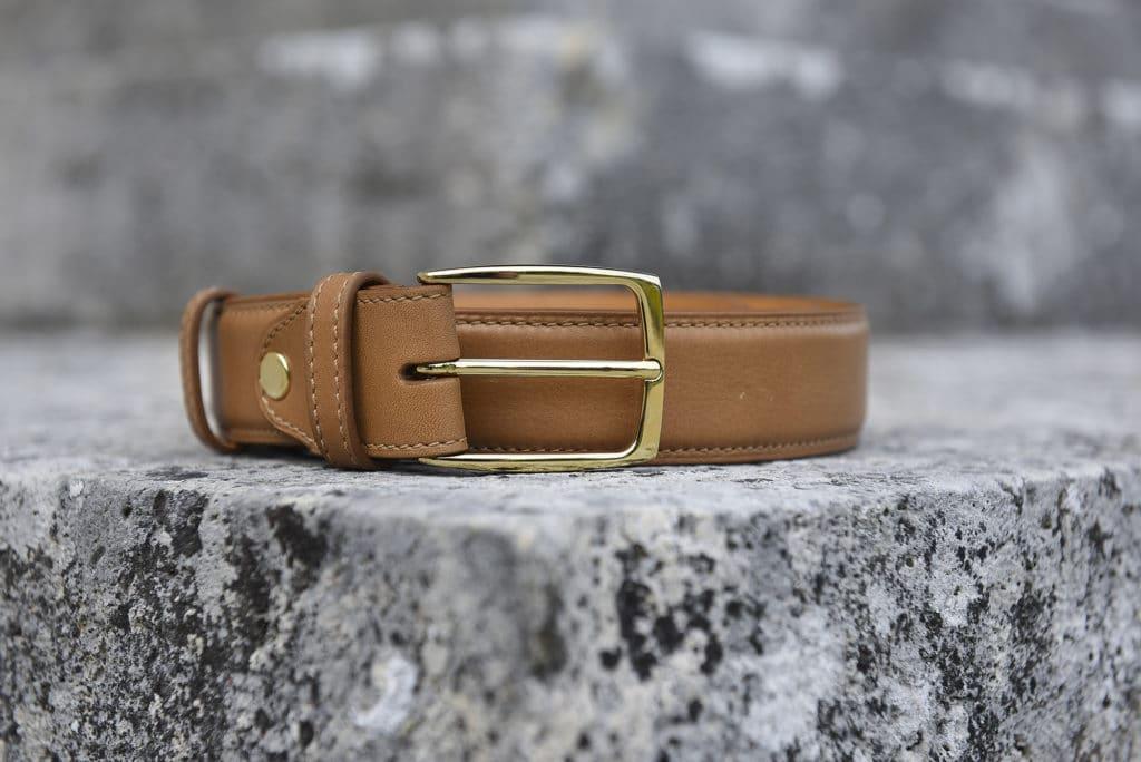 ceinture cuir marron clair 1024x684 - 5 nouvelles patines, 7 nouvelles ceintures : 57 possibilités !