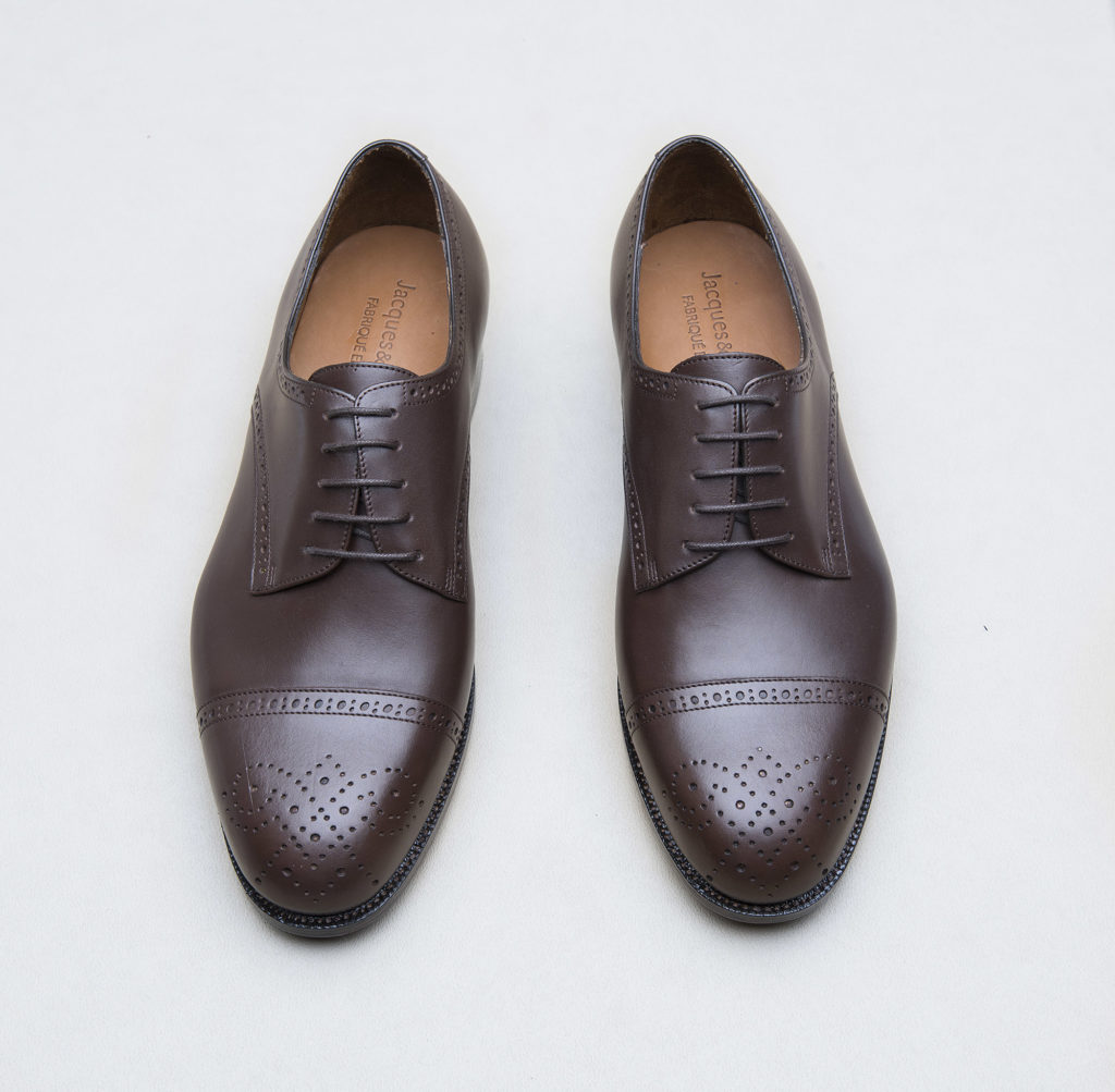 derby brogue ebene 1 1024x1003 - Richelieu et derby.... Brogue !