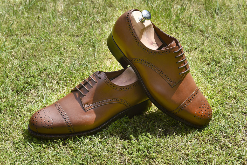 derby brogue fauve 2 1024x684 - Richelieu et derby.... Brogue !