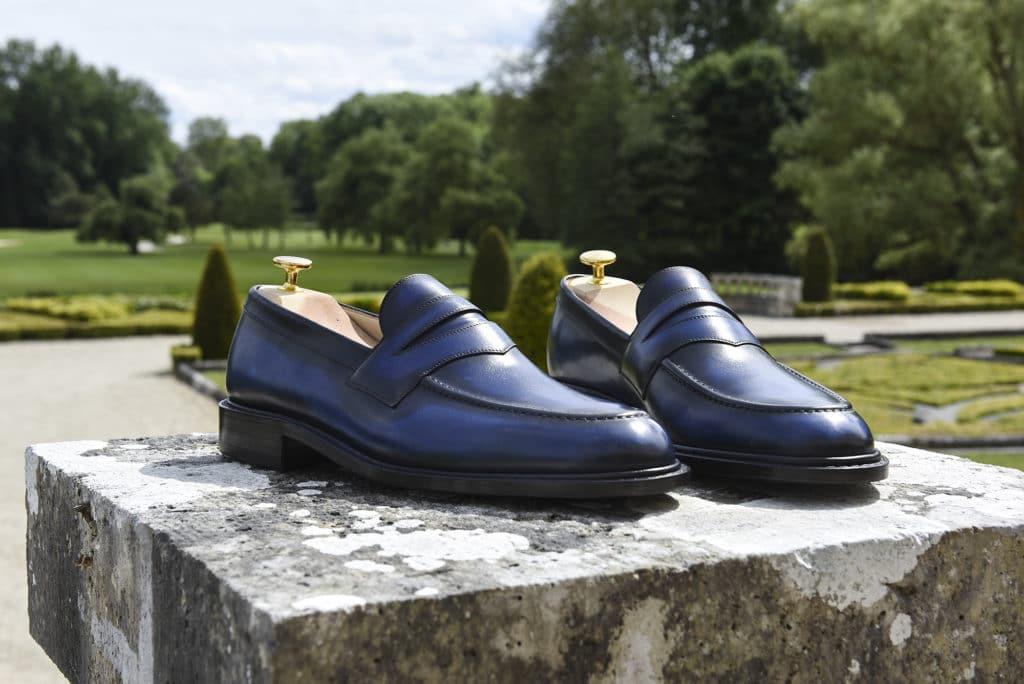 loafer van gogh 1024x684 - 5 nouvelles patines, 7 nouvelles ceintures : 57 possibilités !