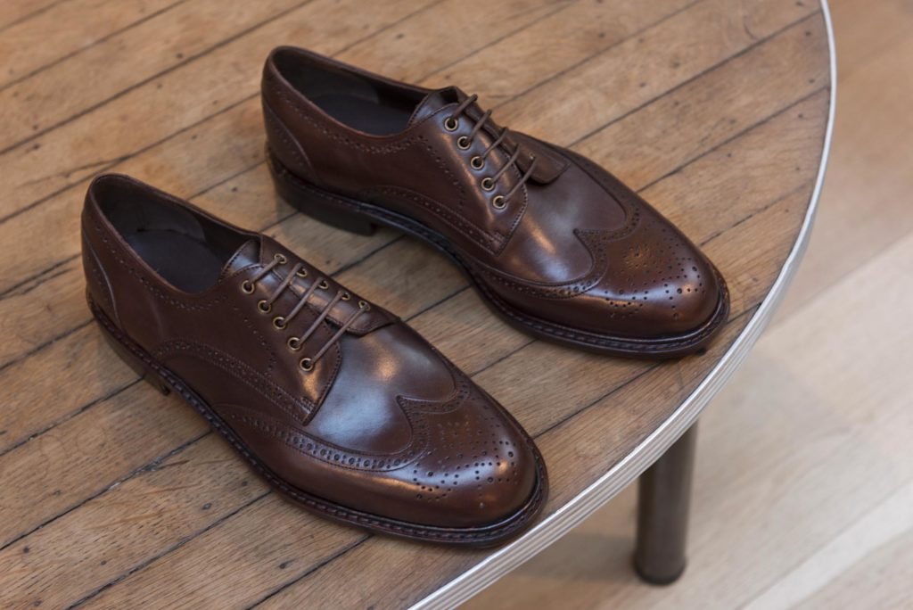 derby brogue V2 marron 2 1024x684 - City V3 et Derby brogue V2 : enfin un bout golf !