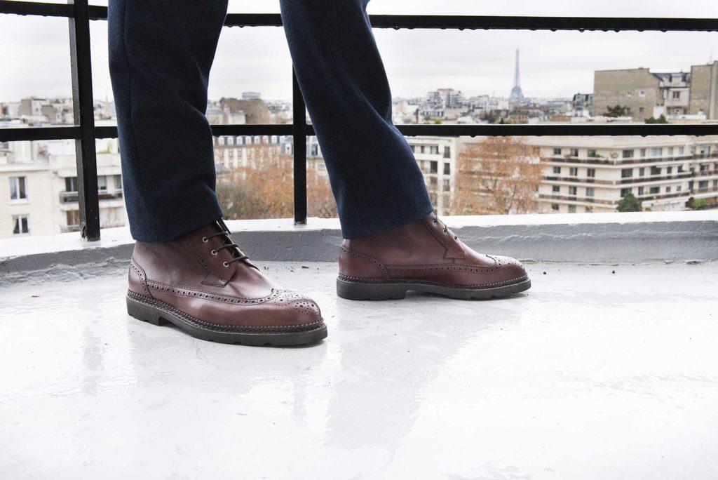 work boots marron 1 1024x684 - Chukka, Richelieu, Work, Country & City V2 : 7 nouvelles références