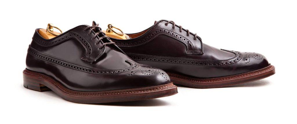 chaussure derby long wing alden 1024x430 - La chaussure derby : origines et histoire