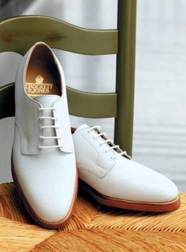 chaussure derby whote buck - La chaussure derby : origines et histoire