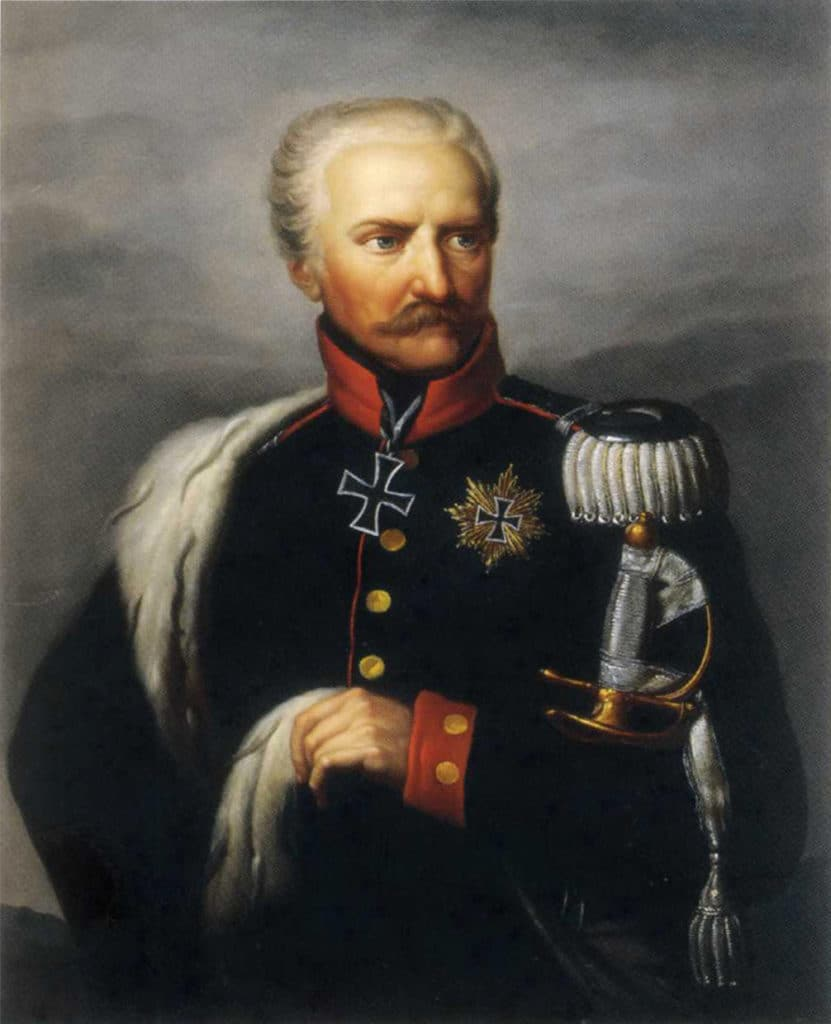general blucher 831x1024 - La chaussure derby : origines et histoire