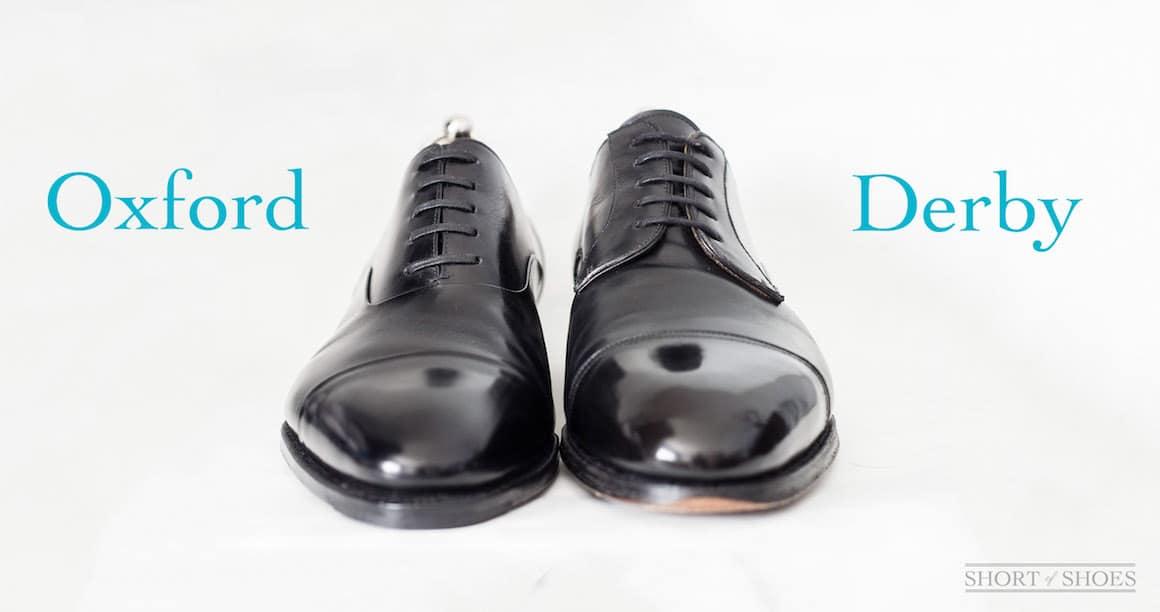 oxford vs derby shoe - La chaussure derby : origines et histoire
