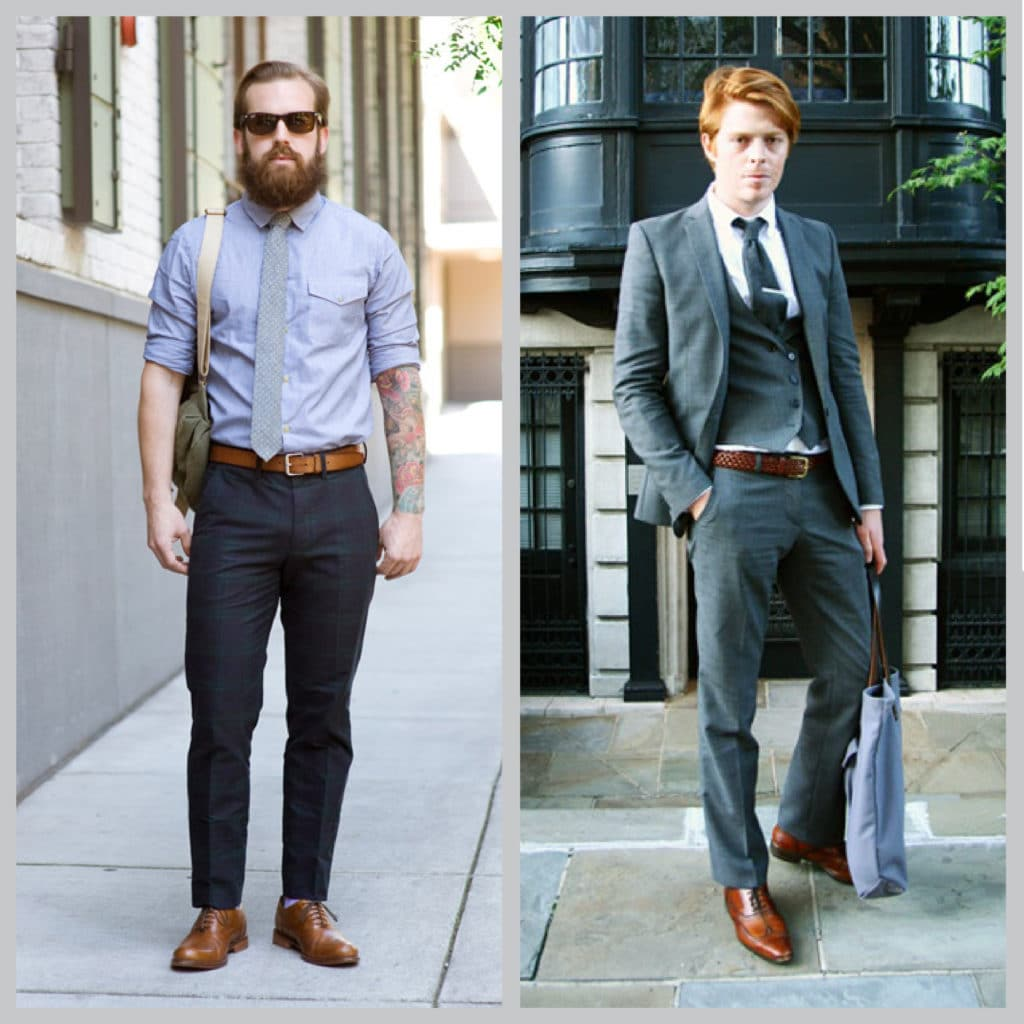 shoes and belts guys 1024x1024 - 3 exemples de règles sur les souliers à suivre ... ou pas ?