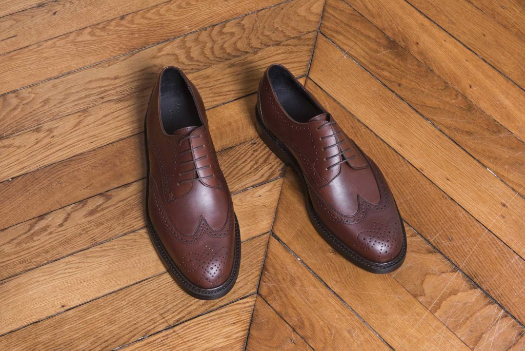 derby brogue v2 marron 4 1024x684 - Derby Long Wing, Adélaïde et Derby Brogue V2 - Hiver 2018
