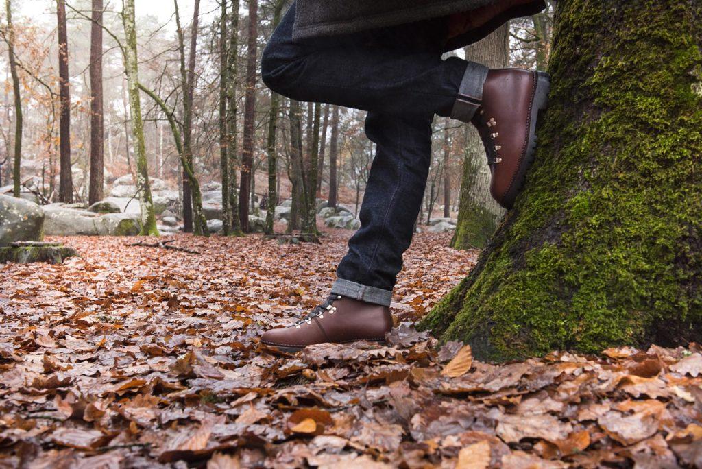 mountain boots marron 1 1024x684 - Mountain Boots et Richelieu Balmoral - Hiver 2018 - 5 nouvelles références