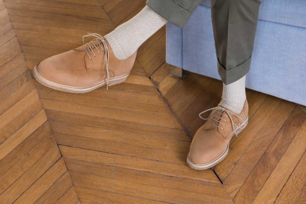 Plain toe fauve 2 1024x683 - Semelles Lactae Hevea et chaussures non doublées : 7 nouveautés